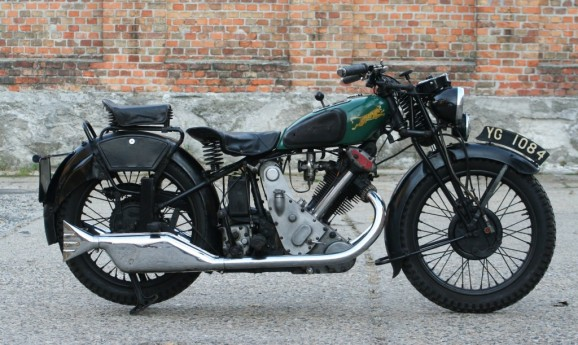 1933 Panther Redwing 600ccm OHV 1933-verkauft to UK-