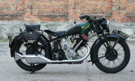 1933 Panther Model 100 Redwing 600ccm OHV