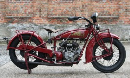1930 Indian 101 Scout 750cc V-twin -verkauft-