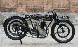1924 Sunbeam 500ccm Model 6 Long-Stroke -verkauft-