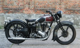 Ariel VG De Luxe 500cc OHV 1939 -verkauft nach Österreich-
