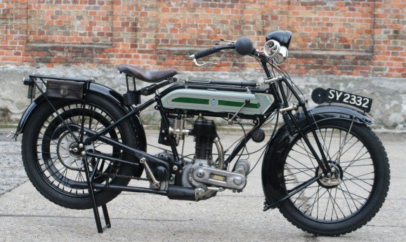 1924 Triumph SD 550ccm