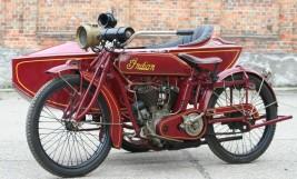 Indian Powerplus 1000cc Gespann 1918