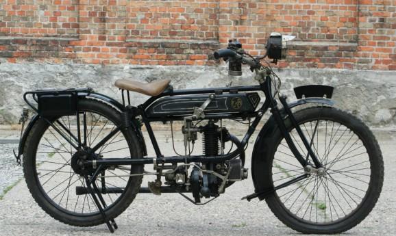 FN 285T 285cc IOE 1922 -verkauft nach Holland-