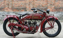 Indian Scout 1923 600cc -verkauft nach Belgien-