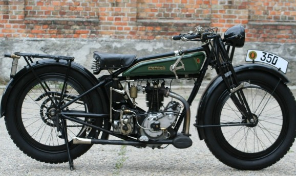Rudge 1924 350cc ohv 4valve 4speed -sold to Japan-