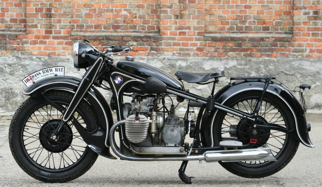 Motomania Motorr 228 Der Details Bmw R12 1936