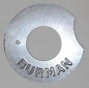 Burman Kickstarter Deckel klein